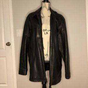 Men's Oscar Leopold Leather Jacket